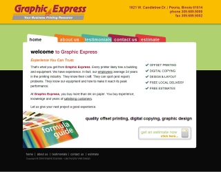 Graphic Express, Peoria Illinois
