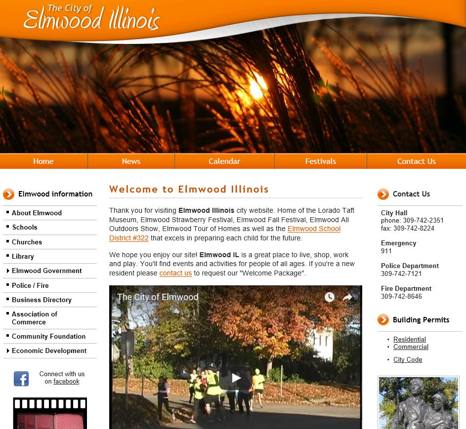 City Of Morton Illinois: Peoria IL Website Design, Peoria, East Peoria, Pekin
